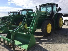 Tractor For Sale 2016 John Deere 6155R , 155 HP