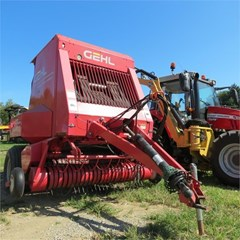 Baler-Round For Sale Gehl 2580