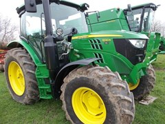 Tractor - Utility For Sale 2018 John Deere 6120R , 120 HP