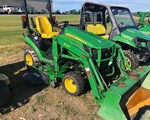 Compact Utility Tractor For Sale: 2016 John Deere 1025R, 25 HP