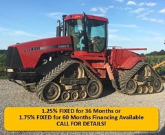 Tractor For Sale 2001 Case IH STX440 , 440 HP