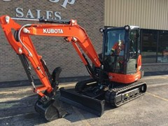 Excavator-Mini For Sale:  2018 Kubota KX040-4R3A , 40 HP