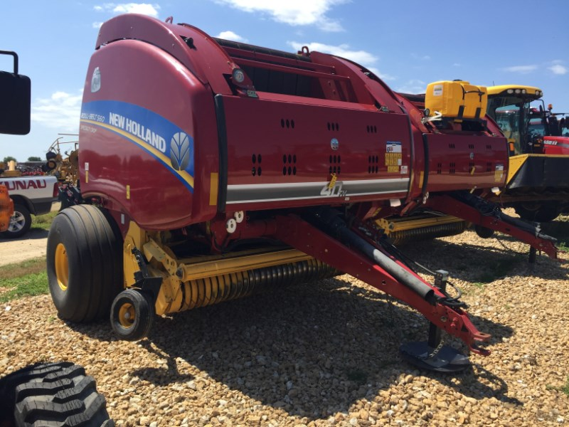 New Holland BR560 Baler-Round For Sale