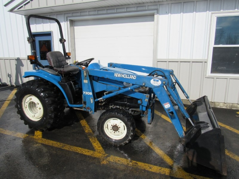 2000 New Holland TC25D Tractor For Sale