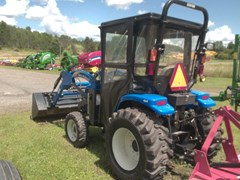 Tractor For Sale 2010 New Holland Boomer 2035 w/ Bush Hog BH15 , 35 HP