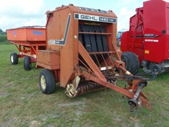 Baler-Round For Sale Gehl 1460