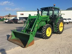 Tractor For Sale 2017 John Deere 6130R Cab , 130 HP