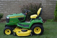 Riding Mower For Sale 2016 John Deere X758 , 24 HP