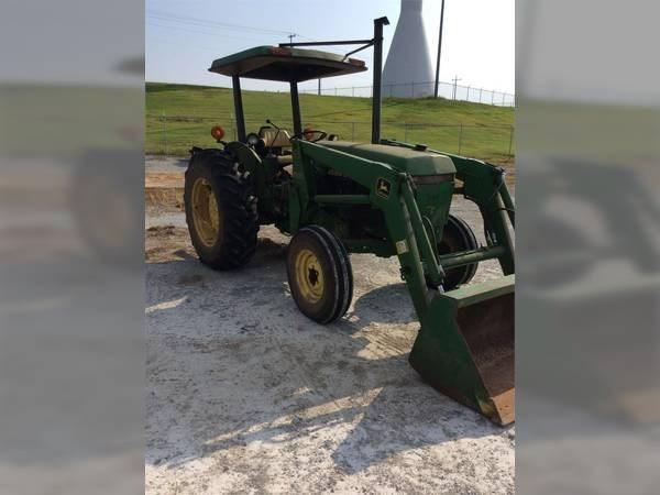 1987 John Deere 2155 Tractor For Sale