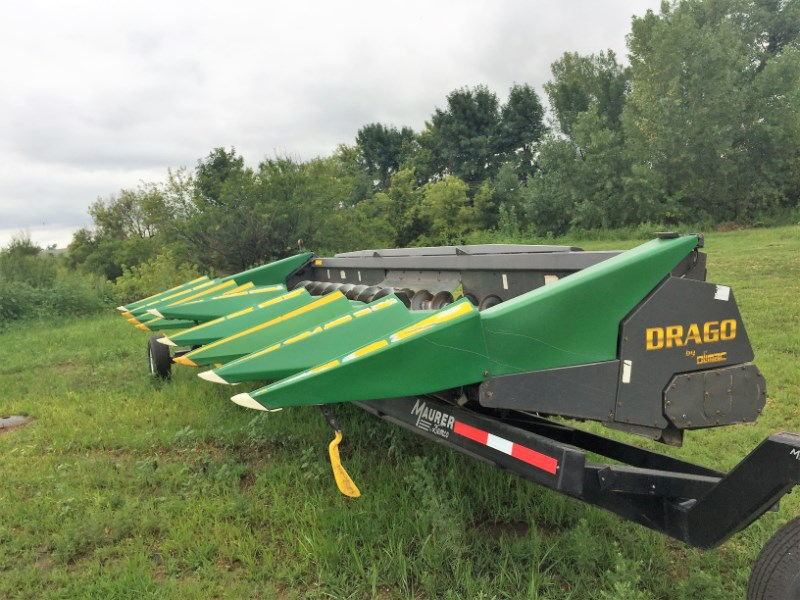 Drago 15500 Header-Corn For Sale