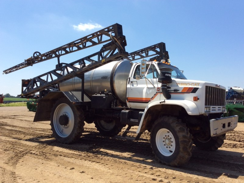 1986 GMC Turbo Cat Floater/High Clearance Spreader For Sale
