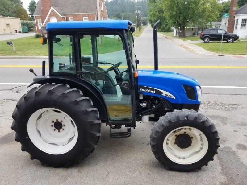 2005 New Holland TN75DA Tractor For Sale