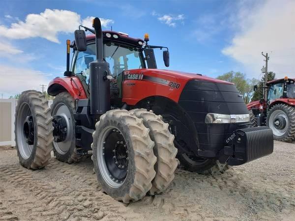 2018 Case IH MAGNUM 280 CVT Tractor For Sale