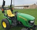 Tractor For Sale2016 John Deere 2025R, 25 HP