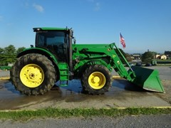 Tractor - Row Crop For Sale 2012 John Deere 6210R , 210 HP