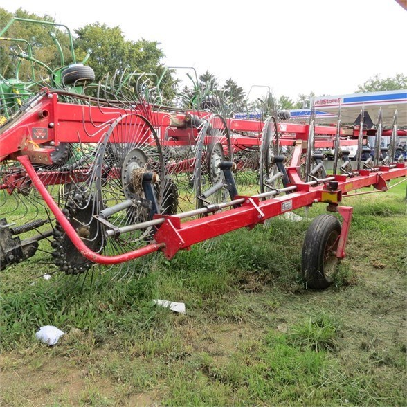 2012 Massey Ferguson 3986 Hay Rake-Wheel For Sale