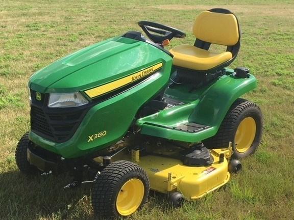 2016 John Deere X380 Riding Mower For Sale