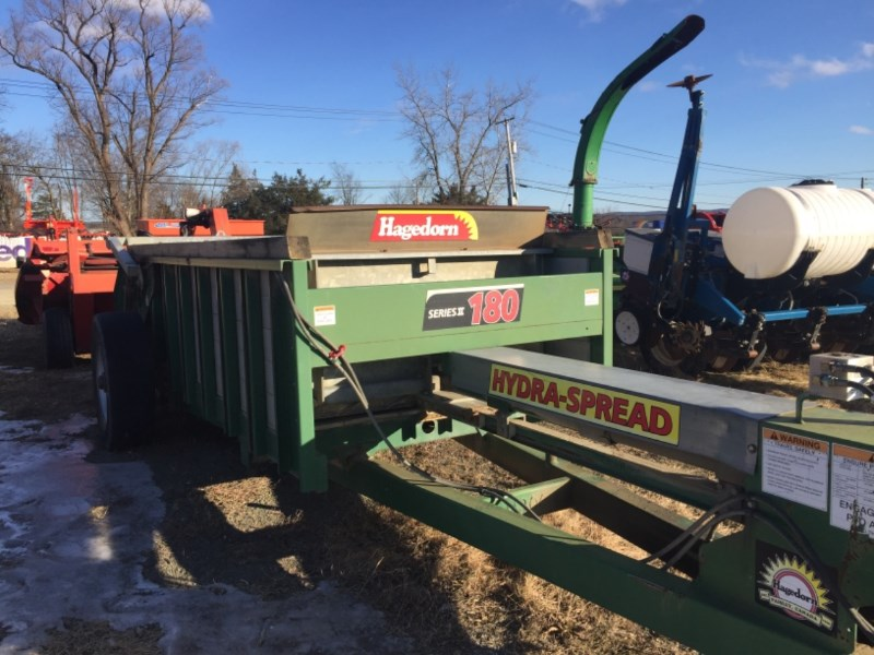 Hagedorn 180 Manure Spreader-Dry For Sale