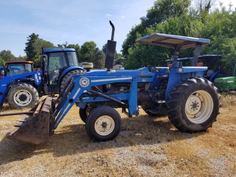 2002 New Holland 5610S LDR Tractor For Sale