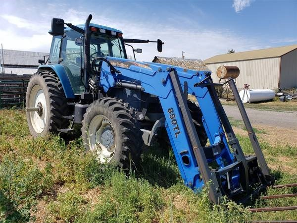 2000 New Holland TM165 Tractor For Sale