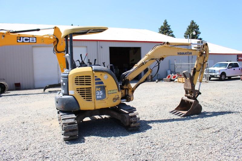 2007 Komatsu PC35MR-2 Excavator-Track For Sale