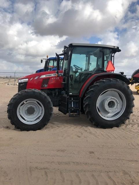 2017 Massey Ferguson 6713 Tractor For Sale