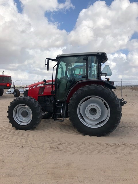 2017 Massey Ferguson 6713 Tractor For Sale