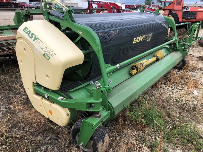 2015 Krone EF380 Forage Head-Windrow Pickup For Sale