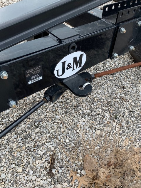 2017 J & M 4WS15-42 Header Trailer For Sale