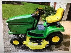 Lawn Mower For Sale 2000 John Deere LX277 , 17 HP