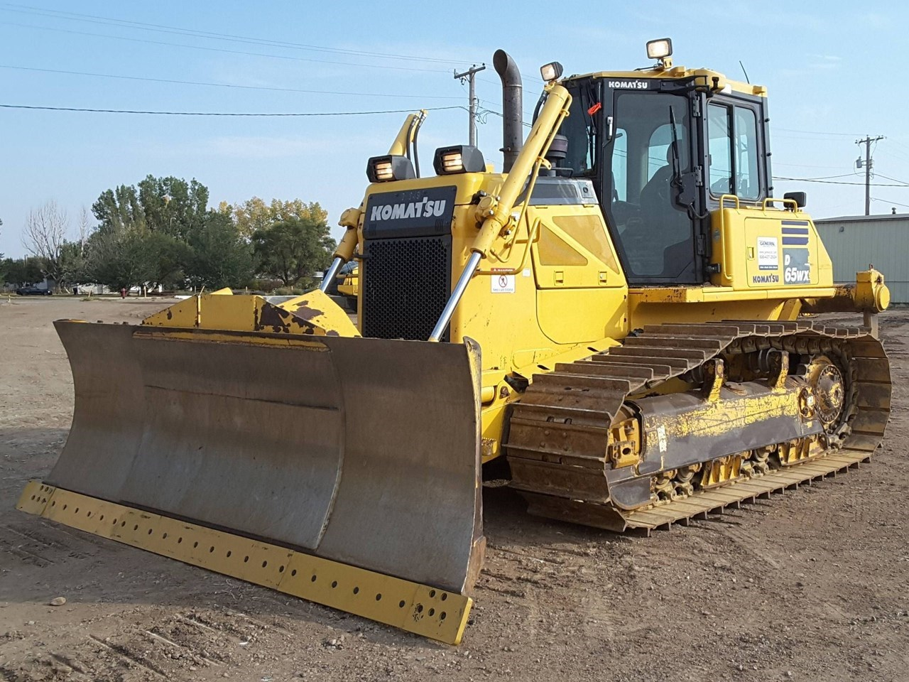 2012 Komatsu D65WX-17 Crawler Tractor For Sale