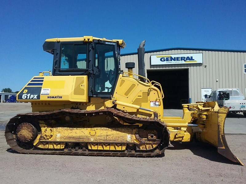2015 Komatsu D61PX-23 Crawler Tractor For Sale