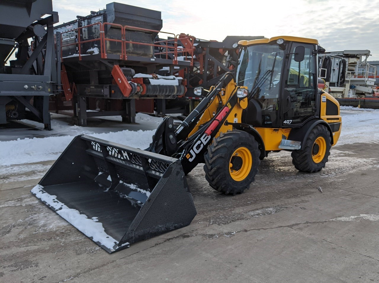 2019 JCB 407 AGRI Loader For Sale