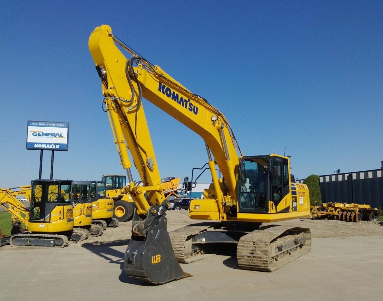 2018 Komatsu PC210LC-11 Excavator For Sale