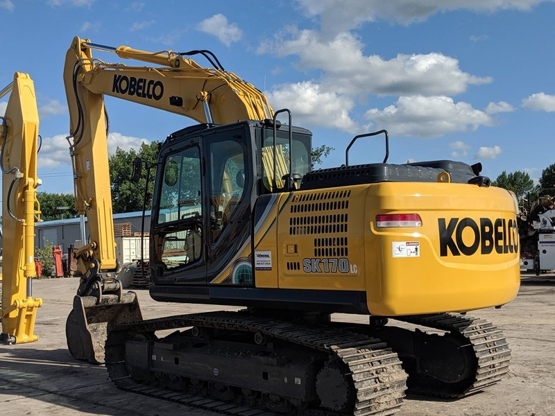 2019 Kobelco SK170LC-10 Excavator For Sale