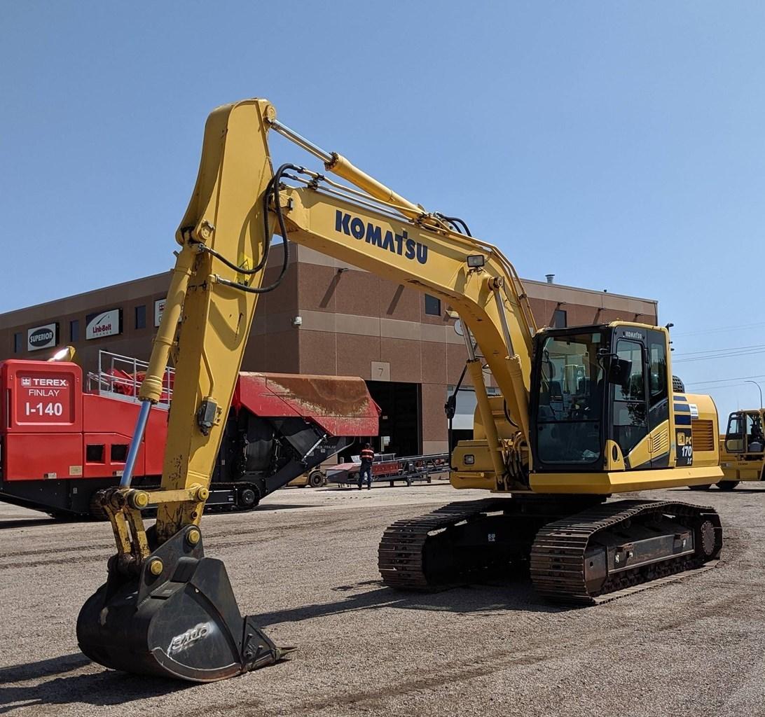 2014 Komatsu PC170LC-10 Excavator For Sale