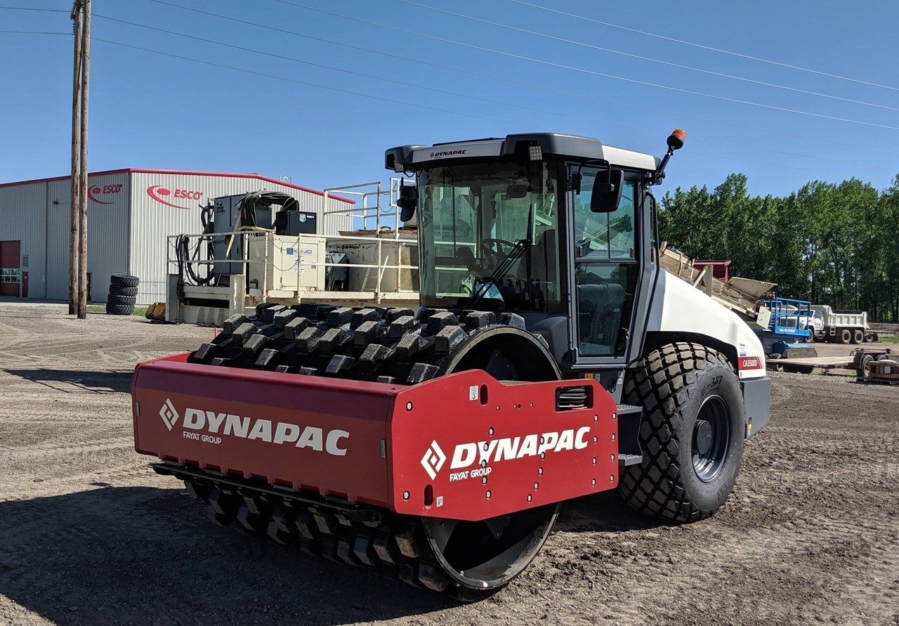 2019 Dynapac CA3500D Compactor For Sale