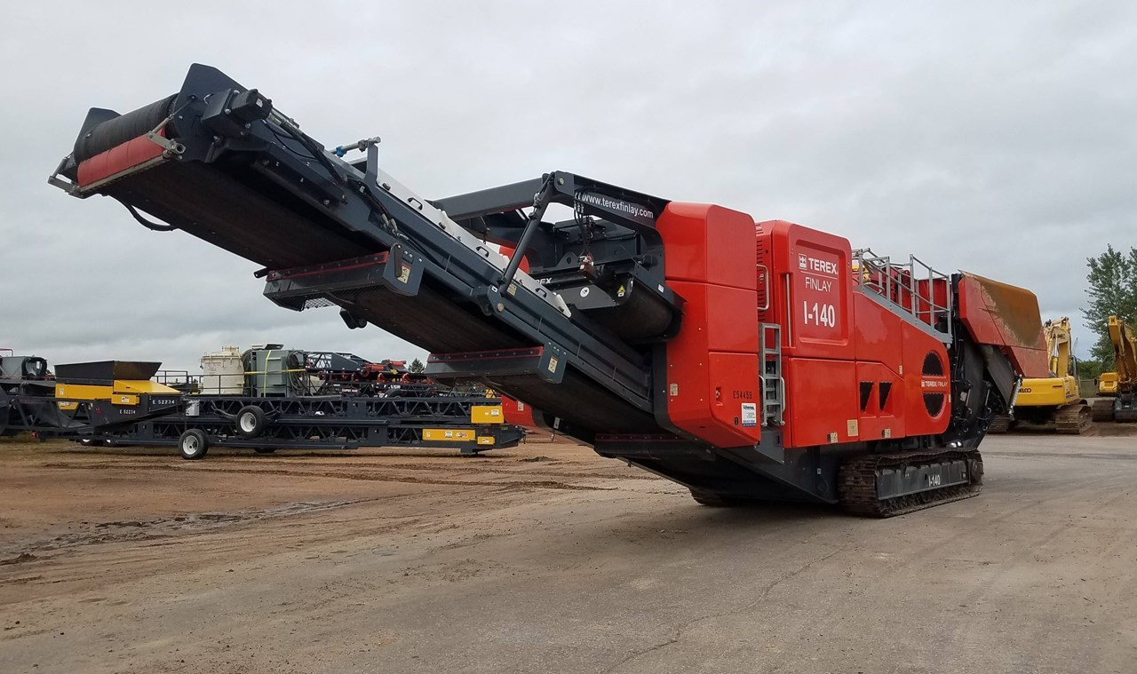 2018 Finlay I-140 Crusher - Impact For Sale