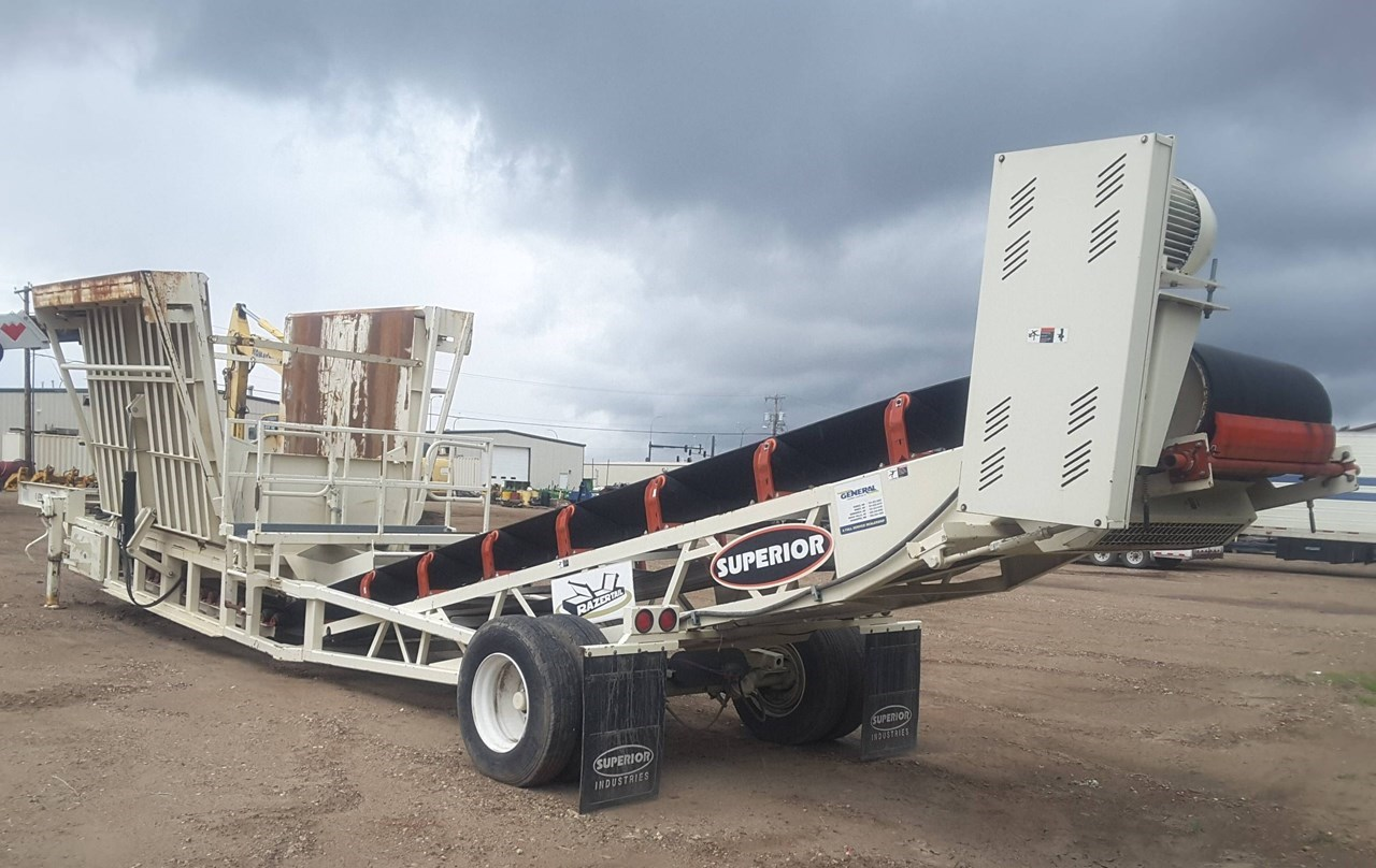 2012 Superior 48RZTU Truck Unloader For Sale