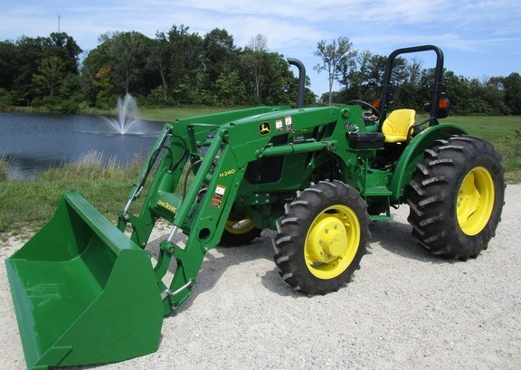 2016 John Deere 5075E Tractor For Sale