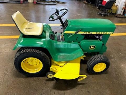 John Deere 112 Riding Mower For Sale