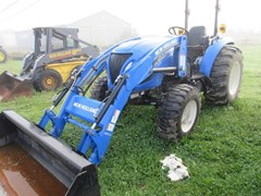 Tractor For Sale 2016 New Holland Boomer 47 , 45 HP