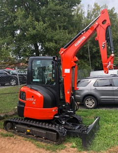 Excavator-Mini For Sale Kubota U35-4R3A , 25 HP