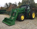 Tractor For Sale2018 John Deere 7230R, 230 HP