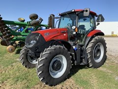 Tractor - Row Crop For Sale 2018 Case IH Maxxum 125 T4 , 125 HP