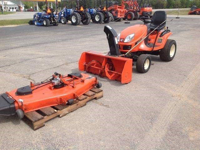 2009 Kubota GR2110 Tractor For Sale