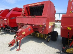 Baler-Round For Sale New Holland 660