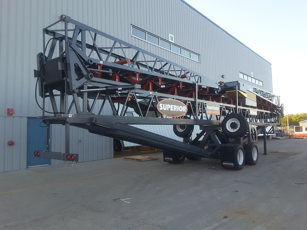 2019 Superior 30X110PS Conveyor - Stacking For Sale