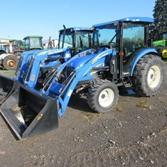 Tractor - Compact Utility For Sale 2008 New Holland T2410 , 55 HP
