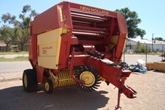 Baler-Round For Sale 1989 New Holland 855
